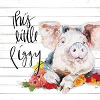This Little Piggy Fine Art Print