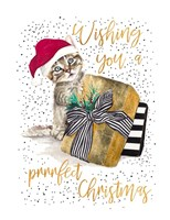 Wishing You A Prrrfect Christmas Fine Art Print