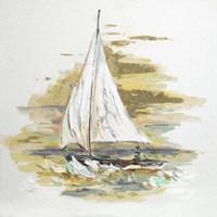 Sailing at Sunset I Fine Art Print