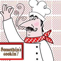 Bon Appetit Chef II Fine Art Print