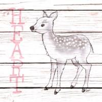 Deer Heart Fine Art Print