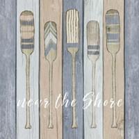 Oars Near the Shore Fine Art Print