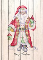 Santa & Cardinal I Fine Art Print