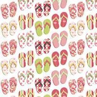 Flip Flop Mania Fine Art Print