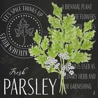 Garden Grown Herbs I Fine Art Print