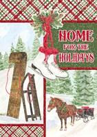Sleigh Bells Ring - Happy Holidays Fine Art Print