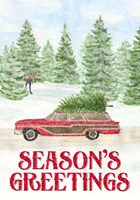 Sleigh Bells Ring - Seasons Greetings Fine Art Print