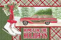 Sleigh Bells Ring - Home for the Holidays Fine Art Print