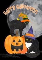 Fright Night Friends - Happy Halloween IV Fine Art Print