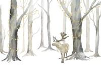 Christmas Forest landscape Fine Art Print