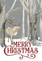 Christmas Forest portrait I-Merry Christmas Fine Art Print