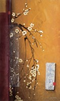 Oriental Blossoms III Fine Art Print