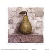 "Envious Pear by Charlene Winter Olson - 6"" x 6"""