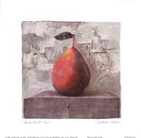 "Succulent Pear by Charlene Winter Olson - 6"" x 6"""