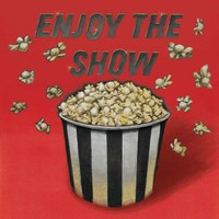 Enjoy the Show Red Fine Art Print