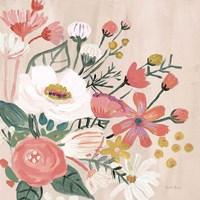 Vintage Floral II Modern Fine Art Print