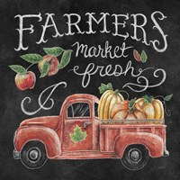 Harvest Chalk VII Fine Art Print