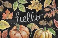 Harvest Chalk IX Fine Art Print