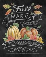 Harvest Chalk I Fine Art Print
