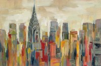 Manhattan - The Chrysler Building Fine Art Print