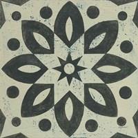 Black and White Tile I Fine Art Print