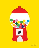 Gumball Machine Fine Art Print