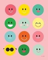 Happy Circles Fine Art Print
