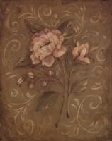 Crackle Rose II Fine Art Print