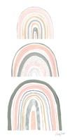 Boho Rainbow VI Framed Print