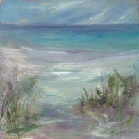 Blue Horizons Fine Art Print