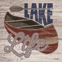 Lafe Life Canoe Fine Art Print