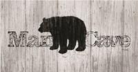 Mancave Bear Fine Art Print