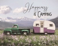 Spring Camping I Fine Art Print