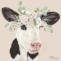 Patience the Cow Fine Art Print