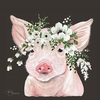 Poppy the Pig Fine Art Print
