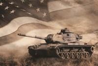 The Liberator Tank Fine Art Print