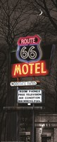 Route 66 Motel Fine Art Print