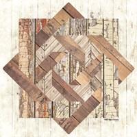 Wood Inlay Barn Quilt Fine Art Print