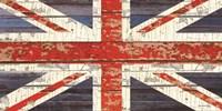 Vintage Union Jack Fine Art Print