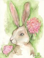 Ruby the Rabbit Fine Art Print