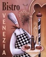 Bistro Venezia Fine Art Print
