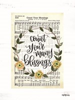 Count Your Many Blessings Fine Art Print