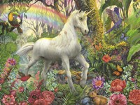 Rainbow Unicorn Fine Art Print