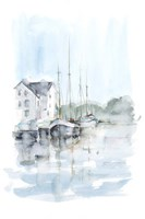 New England Port I Fine Art Print