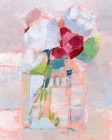 Abstract Flowers in Vase I Fine Art Print