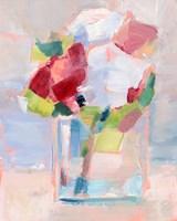 Abstract Flowers in Vase II Fine Art Print