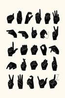 Sign Language I Fine Art Print