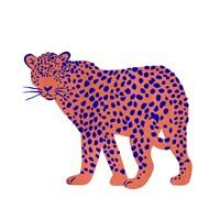Bright Leopard I Fine Art Print