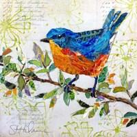 Happy Bird I Fine Art Print