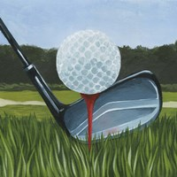 Tee Off II Fine Art Print